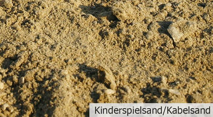 Kinderspielsand/Kabelsand