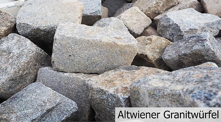 Altwiener Granitwürfel