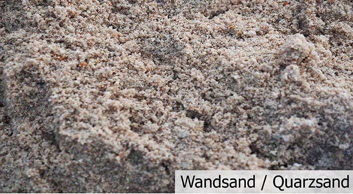 Wandsand/Quarzsand