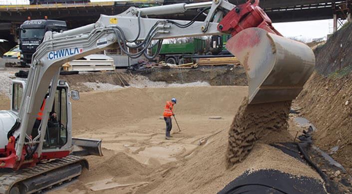 Chwala mineralischer Bodenfilter (gem. RVS 04.04.11)