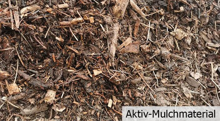 Aktiv-Mulchmaterial
